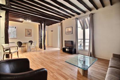 Appartement Paris 06 &bull; <span class='offer-area-number'>55</span> m² environ &bull; <span class='offer-rooms-number'>2</span> pièces
