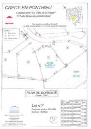Terrain Crecy en Ponthieu &bull; <span class='offer-area-number'>838</span> m² environ
