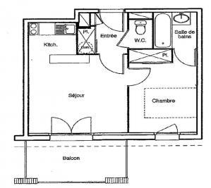 Appartement Castelsarrasin &bull; <span class='offer-area-number'>35</span> m² environ &bull; <span class='offer-rooms-number'>2</span> pièces