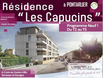 Appartement Pontarlier &bull; <span class='offer-area-number'>60</span> m² environ &bull; <span class='offer-rooms-number'>3</span> pièces