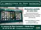 Agence immobilière L'IMMOBILIERE DU PERE LACHAISE