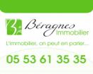 Agence immobilière BERAGNES IMMOBILIER