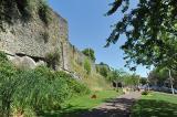 Les remparts de Saint-Lô.