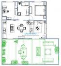 Appartement Bargemon • 70m² • 3 p.