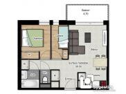 Appartement Valmeinier • 38m² • 2 p.