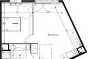 Appartement Le Plessis Bouchard • 41 m² environ • 2 pièces
