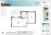 Appartement Douvaine • 41m² • 2 p.