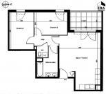 Appartement Aix en Provence • 61m² • 3 p.
