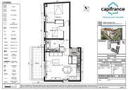Appartement Agde • 61m² • 3 p.