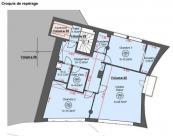 Appartement Millau • 91m² • 3 p.