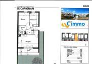 Appartement Perpignan • 57 m² environ • 3 pièces