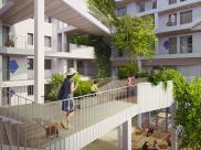 Appartement Paris 13 • 61 m² environ • 3 pièces