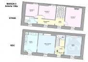 Maison Orange • 110m² • 5 p.