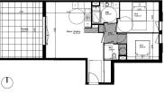 Appartement Ventabren • 65m² • 3 p.