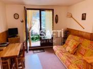Appartement St Leger les Melezes • 23m² • 1 p.