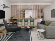 Appartement Clamart • 64m² • 3 p.