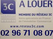 Local commercial St Brieuc • 125m²