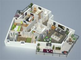 Achat Appartement 3 pièces Chevigny St Sauveur