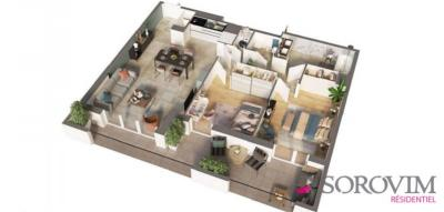 Vente appartement Lyon 08 • <span class='offer-area-number'>62</span> m² environ • <span class='offer-rooms-number'>3</span> pièces