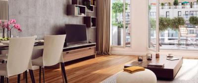 Vente appartement Paris 13 • <span class='offer-area-number'>97</span> m² environ • <span class='offer-rooms-number'>4</span> pièces