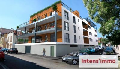 Vente appartement Romans sur Isere • <span class='offer-area-number'>53</span> m² environ • <span class='offer-rooms-number'>2</span> pièces