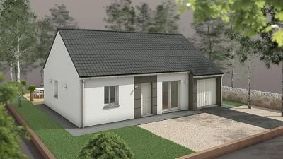 Vente maison+terrain Foulbec • <span class='offer-area-number'>71</span> m² environ • <span class='offer-rooms-number'>3</span> pièces
