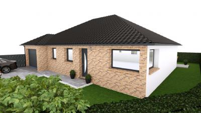 Vente maison+terrain Hinges • <span class='offer-area-number'>100</span> m² environ • <span class='offer-rooms-number'>7</span> pièces