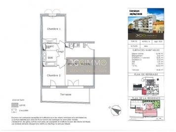 Vente appartement La Crau • <span class='offer-area-number'>56</span> m² environ • <span class='offer-rooms-number'>3</span> pièces
