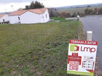Vente terrain La Chataigneraie • <span class='offer-area-number'>910</span> m² environ
