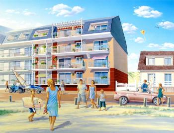 Vente appartement Fort Mahon Plage • <span class='offer-area-number'>69</span> m² environ • <span class='offer-rooms-number'>3</span> pièces