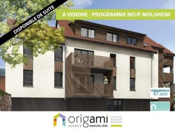Vente appartement Molsheim • <span class='offer-area-number'>66</span> m² environ • <span class='offer-rooms-number'>3</span> pièces