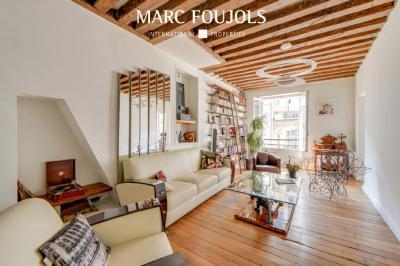 Vente appartement Paris 01 • <span class='offer-area-number'>77</span> m² environ • <span class='offer-rooms-number'>3</span> pièces