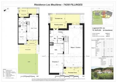Vente appartement Fillinges • <span class='offer-area-number'>114</span> m² environ • <span class='offer-rooms-number'>5</span> pièces
