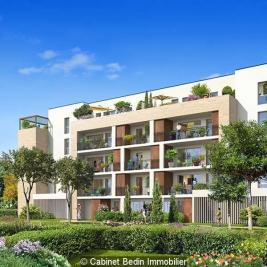 Achat appartement Le Bouscat • <span class='offer-area-number'>74</span> m² environ • <span class='offer-rooms-number'>3</span> pièces