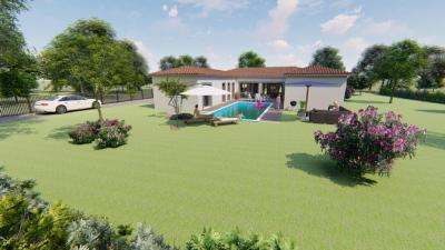 Vente maison+terrain Larra • <span class='offer-area-number'>171</span> m² environ • <span class='offer-rooms-number'>5</span> pièces