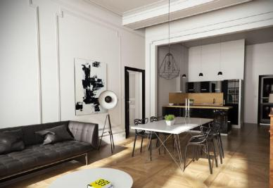 Achat appartement Montpellier • <span class='offer-area-number'>88</span> m² environ • <span class='offer-rooms-number'>4</span> pièces
