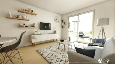 Achat appartement Strasbourg • <span class='offer-area-number'>43</span> m² environ • <span class='offer-rooms-number'>2</span> pièces