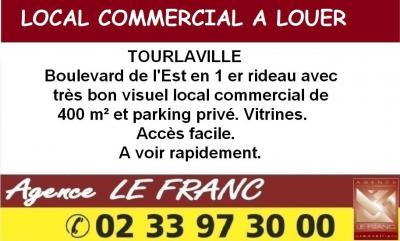 Location commerce Tourlaville • <span class='offer-area-number'>400</span> m² environ