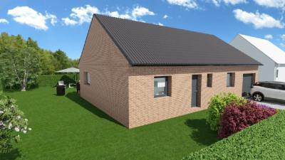 Achat maison+terrain Lambres Lez Douai • <span class='offer-area-number'>80</span> m² environ • <span class='offer-rooms-number'>5</span> pièces