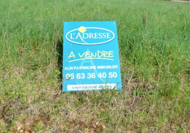 Vente terrain Labastide Gabausse • <span class='offer-area-number'>1 614</span> m² environ