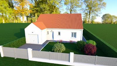 Vente maison+terrain St Caprais • <span class='offer-area-number'>101</span> m² environ • <span class='offer-rooms-number'>5</span> pièces