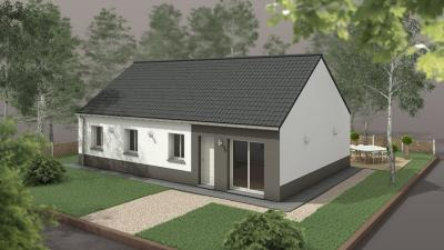 Achat maison+terrain Claville • <span class='offer-area-number'>92</span> m² environ • <span class='offer-rooms-number'>5</span> pièces