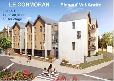 Appartement Pleneuf Val Andre • <span class='offer-area-number'>43</span> m² environ • <span class='offer-rooms-number'>2</span> pièces