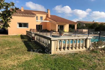 Vente villa Rivesaltes • <span class='offer-area-number'>220</span> m² environ • <span class='offer-rooms-number'>6</span> pièces