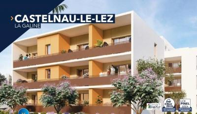 Appartement Montpellier • <span class='offer-area-number'>60</span> m² environ • <span class='offer-rooms-number'>3</span> pièces