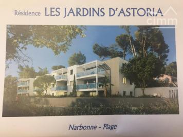 Vente appartement Narbonne Plage • <span class='offer-area-number'>39</span> m² environ • <span class='offer-rooms-number'>2</span> pièces
