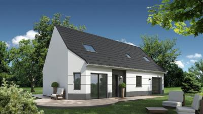 Achat maison+terrain Claville • <span class='offer-area-number'>104</span> m² environ • <span class='offer-rooms-number'>4</span> pièces