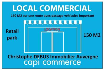 Location commerce Bellerive sur Allier • <span class='offer-area-number'>150</span> m² environ • <span class='offer-rooms-number'>1</span> pièce