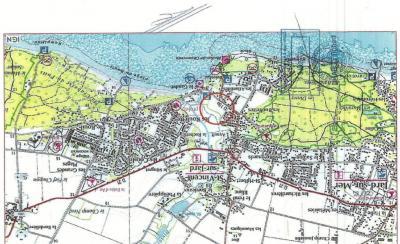 Vente terrain St Vincent sur Jard • <span class='offer-area-number'>250</span> m² environ