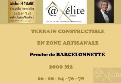 Vente terrain Barcelonnette • <span class='offer-area-number'>2 000</span> m² environ